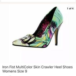 Iron first heels
